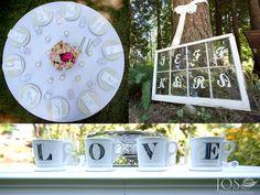 DIY Wedding - Rustic wedding - DIY Bride - Charming | josphotographers.com