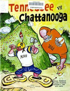UT vs. Chattanooga (November 5, 1966)... nice throw back