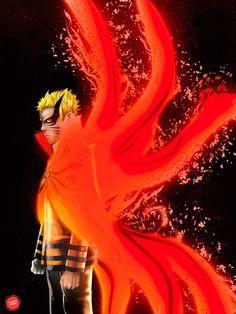 Naruto Uzumaki Hokage, Naruto Sasuke Sakura, Naruto Shippuden Anime, Wallpaper Naruto Shippuden, Naruto Wallpaper, Nine Tailed Fox Naruto, Naruto Sage, Emoji Wallpaper Iphone, Yuri Anime