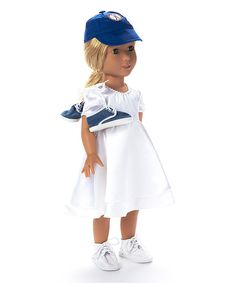 Look at this Doll Baseball Set on #zulily today!