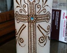 Henna candle von JSHennaCreations auf Etsy