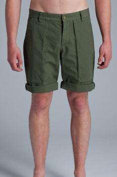 Lifetime Collective / Uniform Standard / SHORTS / OZARK SHORT - ARMY GREEN