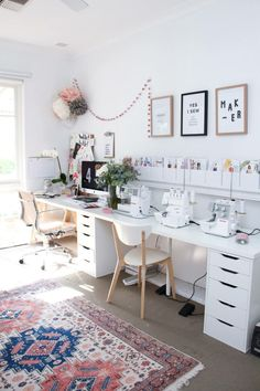 20 Pretty Sewing Room Ideas for An Inspiring Sewing Space 6 Get All Ideas About Home