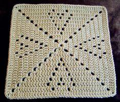 Transcendent Crochet a Solid Granny Square Ideas. Inconceivable Crochet a Solid Granny Square Ideas. Crochet Squares Afghan, Granny Square Crochet Pattern, Crochet Blocks, Crochet Motif, Crochet Stitches, Knit Crochet, Crochet Patterns, Granny Squares, Crochet Hook Set