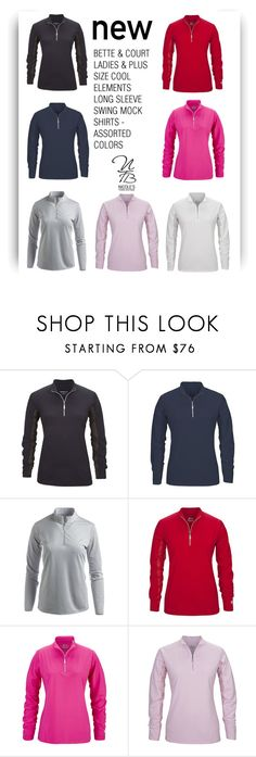 """New Long Sleeve Shirts - Nicole's Tennis Boutique"" by nicolestennisboutique ❤ liked on Polyvore"