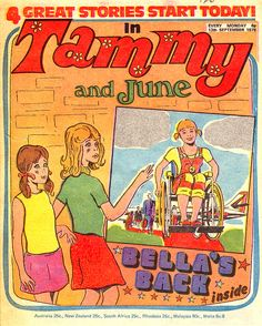 Tammy and June Comics Uk, Old Comics, Comics Girls, 1980s Childhood, Childhood Memories, Vintage Magazines, Great Stories, My Memory, Magazine Covers