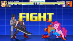 Spider-Man And Pinkie Pie VS Cloud Strife And Kung Fu Man In A MUGEN Match / Battle / Fight This video showcases Gameplay of Spider-Man The Superhero And Pinkie Pie From The My Little Pony Friendship Is Magic Series VS Cloud Strife From The Final Fantasy Series And Kung Fu Man In A MUGEN Match / Battle / Fight