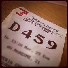 29/365 - Dia de papeleos administrativos #2013/365