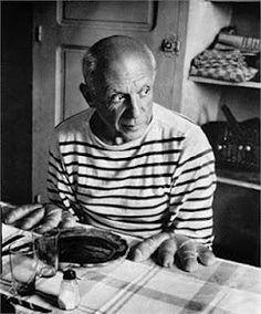 Picasso mani di pane #stripes