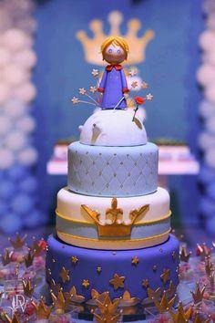 bolo pequeno principe 3 andares - Pesquisa Google