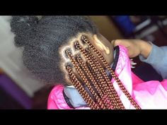 # jumbo box Braids watches What The Tuck? How To Tuck Natural Hair Into Box Braids For A Solid Color [Video] # jumbo box Braids watches # jumbo Braids for kids Short Box Braids, Blonde Box Braids, Jumbo Box Braids, Black Girl Braids, Hair For Box Braids, Box Braids Hairstyles, Try On Hairstyles, Kids Braided Hairstyles, Hairdos