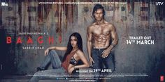 Shraddha-Tiger's 1st Poster of Baaghi - Rebels in Love Unveiled! | PINKVILLA