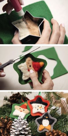 Purchase Doodle Felted Ornaments and make these cute ornaments to hang on the tree this Christmas! While you're it, subscribe to Doodle Crate and receive cool projects like this one each month. Subscribe now and receive 30% off your first month's subscription with PINTEREST30. Hurry, offer ends November 30th, 2015!