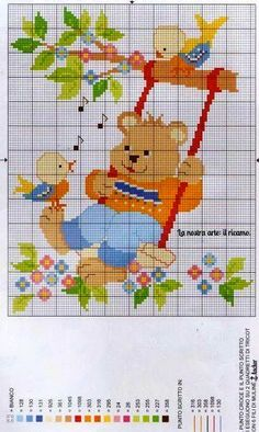 This Pin was discovered by Mil Cross Stitch For Kids, Cross Stitch Baby, Cross Stitch Animals, Cross Stitch Charts, Cross Stitching, Cross Stitch Embroidery, Embroidery Patterns, Funny Cross Stitch Patterns, Cross Stitch Designs