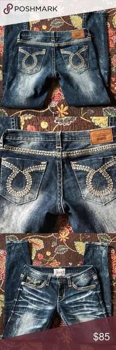 Big star the legendary blue skinny jeans29 regular Big star the legendary blue jeans size 29 regular/ worn once and in good condition/ smoke free home/ purchased from the buckle Big Star Pants Skinny