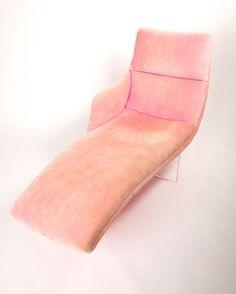 Erica chaise lounge by Vladimir Kagan