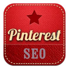 SEO logo by Pinterest