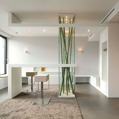 Edelweiss Practice by klm-Architekten, Berlin – Germany sectional carpet and full height plants are nice. Medical Office Design, Dental Office Design, Workplace Design, Healthcare Design, Spa Design, Design Blog, House Design, Commercial Design, Commercial Interiors