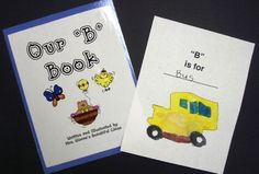 Class Letter Books. Perfect for my preschool class now as we learn the letters! :)