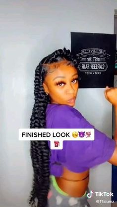 Big Box Braids Hairstyles, Braided Hairstyles For Black Women Cornrows, Braids Hairstyles Pictures, African Braids Hairstyles, Baddie Hairstyles, Braids For Black Hair, Weave Hairstyles, Curly Hair Tips, Curly Hair Styles