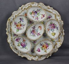 Deviled Eggs can be so versatile and yummy! Entertaining with Southern Deviled Eggs can make any event spec. Antique Dishes, Vintage Dishes, Antique China, Vintage China, Porcelain Ceramics, China Porcelain, Cold Porcelain, Dresden China, Dresden Porcelain