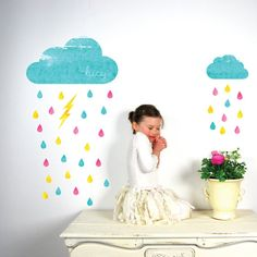Don't Be Afraid From the Rain ♥ ♥ ♥ by Gizem CAN on Etsy
