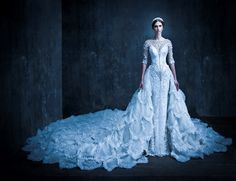 AMAZING couture wedding dress by Michael Cinco.
