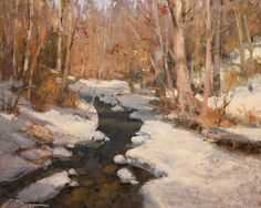 Welcome to Travis Gallery Contemporary Landscape, Landscape Art, Landscape Paintings, Oil Paintings, Painting Snow, Winter Painting, Painted Toms, Winter Beauty, Pastel Art