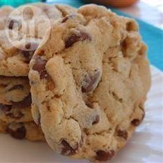 Foto de la receta: Galletas infalibles de chispas de chocolate