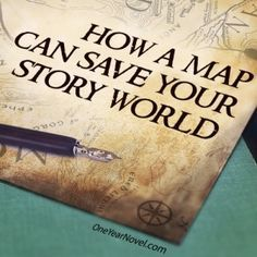 How a Map Can Save Your Story-- Every fantasy author (or otherwise) should read this.