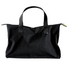 teflon coated cotton travel bag.