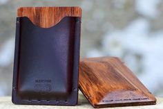 Contemporary Artisan Cardholders - This Luxurious Cardholder Collection is Dapper and Super Suave (GALLERY)