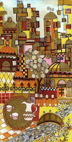 Jerusalem by Rachel Hershkovitz