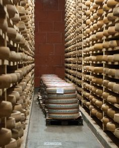 To The Cheese Caves! Where French Comté Goes To Age