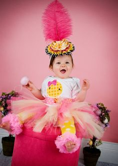 Easter Chick Bodysuit Pink and Yellow Girl Easter by Whimsy Tots Boutique, $31.50, Photos by Magic Moments Photography