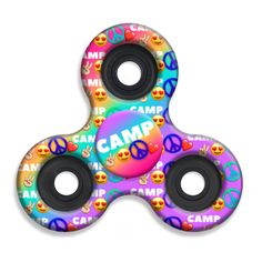 Spinner Squad Camp Fidget Spinner! Voted #1 for fastest and longest spin!