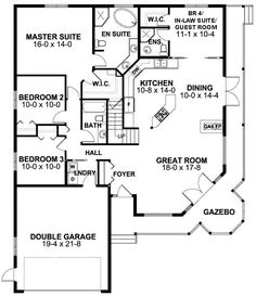 2091 sq ft, take out WIC and BR in guest room and make office, square off master wic and door in br.