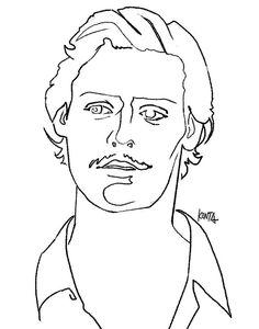 #CarlotoCotta #MiguelGomes #cinema #portrait #illustration #kentaueoka #熱波