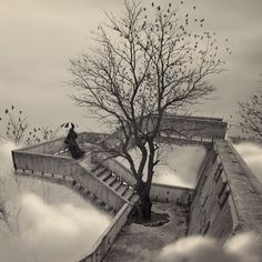 Caras Ionut - Photomanipulation on the basis of his  own photo. << Up the down staircase. Makes me think of Escher.