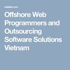With Vidaltek you will have the opportunity to walk on the road to success as it is one of the most trusted companies offering wide range of services to the clients. It is one of the most reputed #vietnam offshore outsourcingcompany which offers #mobileapplication development to companies that rely on the expertise of this organization.