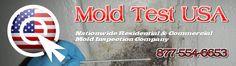 @MoldTestUSA for nationwide #moldtest #moldinspection. Unique 52-point visual inspection. Call 877-554-6653 or visit MoldTestUSA.com