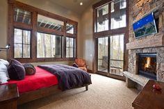 177 white pine - new build - rustic - bedroom - salt lake city - Jaffa Group Design Build