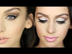 Carli Bybel used our Gel Liner, Glitter Collection, and Blush Palette for these 2 Sparkly New Years Eve Makeup Looks! - YouTube