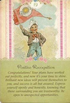 Positive Recognition, Guardian Angel Tarot, Doreen Virtue