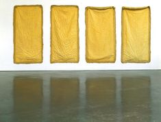 'Aught' by Eva Hesse (1968) - I like the simplicity of this piece.