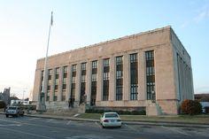 Meridian, MS    Post Office in downtown Meridian.