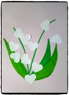 Des brins de muguet pour le 1er mai – Mes humeurs créatives by Flo Abc Crafts, Preschool Crafts, Spring Toddler Crafts, 1. Mai, Toddler Pictures, Creative Arts And Crafts, Deco Floral, Diy For Kids, Activities For Kids