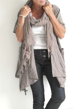 Linen & Jeans = Shabby Chic / @bypiaslifestyle