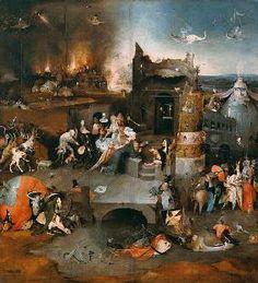 Jérôme Bosch - La tentation de Saint-Antoine