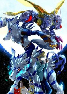 Yamato and Gabumon digievolutions - Digimon Adventure Tri